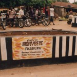 A community beautification project in Edo State, Nigeria