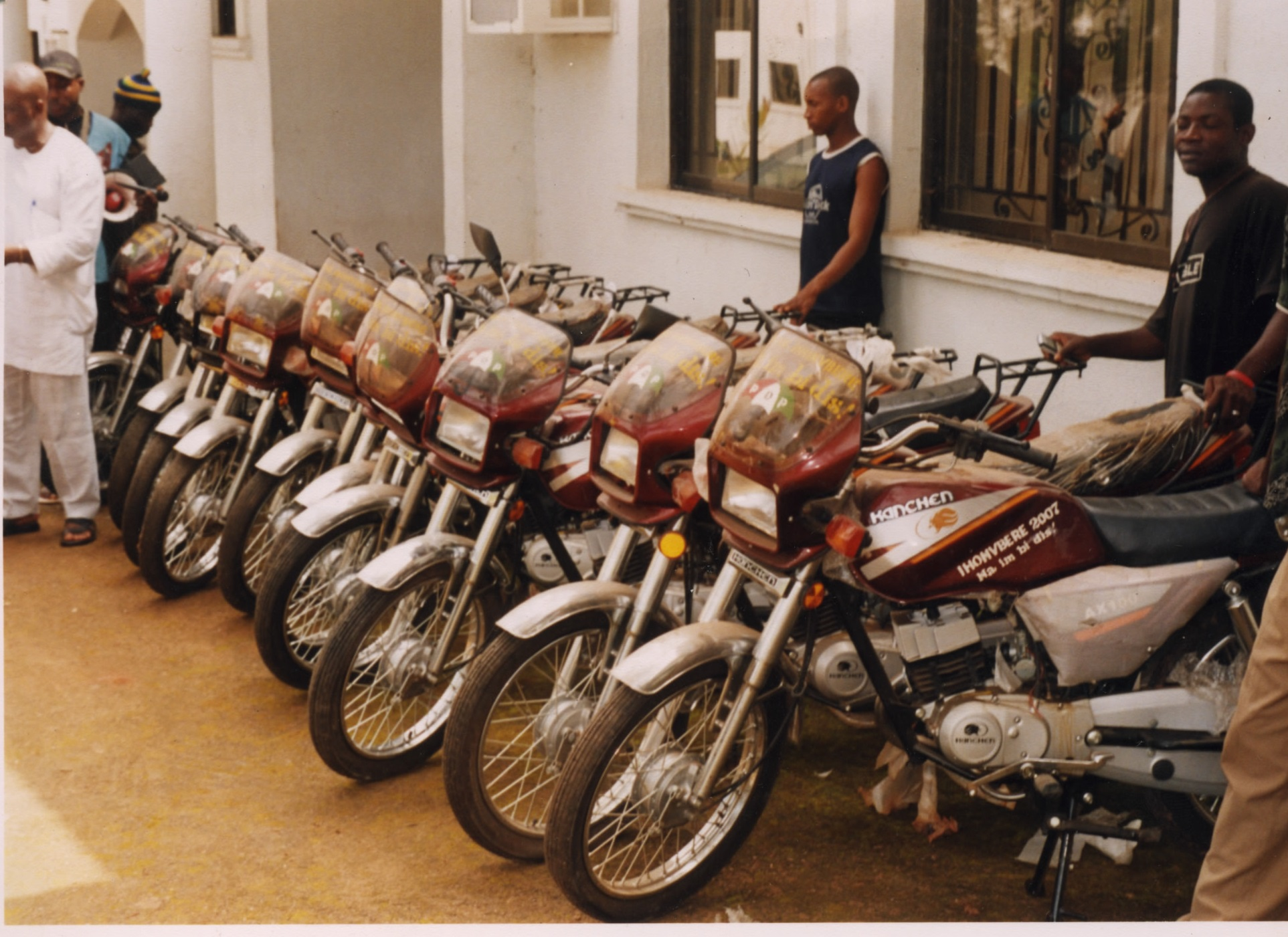 The Ihonvbere Foundation Donates motorcycles