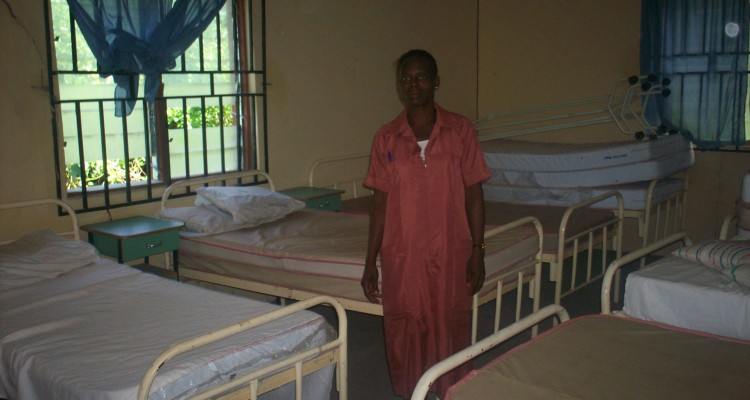 Donation of hospital beds by the Ihonvbere Foundation